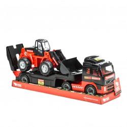 Trailer med traktor, Volvo