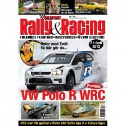 Bilsport Rally&Racing nr 1 2013