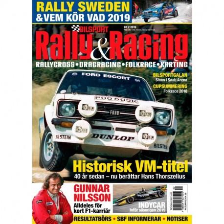 Bilsport Rally & Racing nr 2 2019