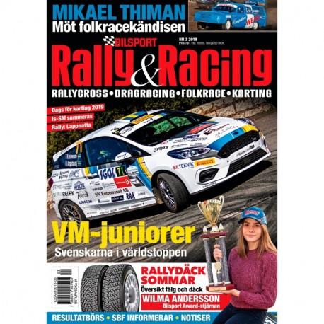 Bilsport Rally & Racing nr 3 2019