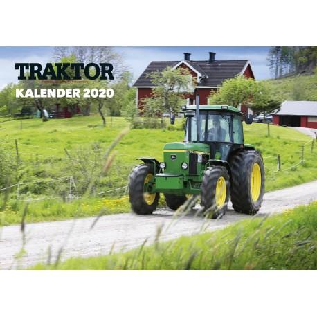 Väggalmanacka Traktor 2020