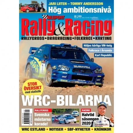 Bilsport Rally & Racing nr 7 2020