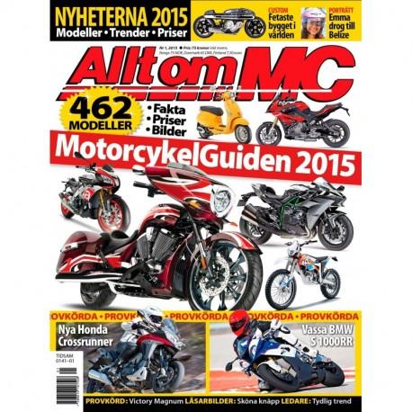Allt om MC nr 1 2015