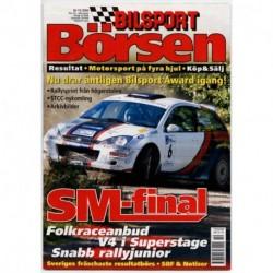 Bilsport Börsen nr 10  2004