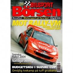 Bilsport Börsen nr 3  2004