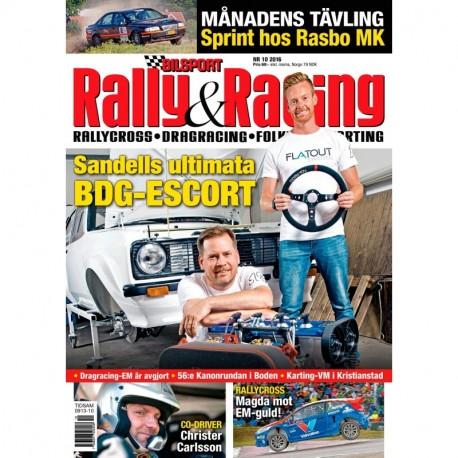 Bilsport Rally&Racing nr 10 2016