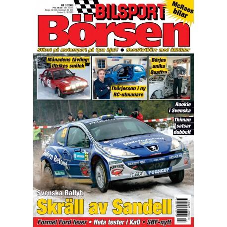 Bilsport Börsen nr 3 2008