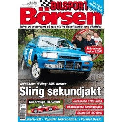 Bilsport Börsen nr 11 2010
