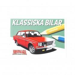 Målarbok för barn - Klassiska bilar
