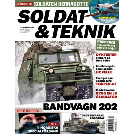 Soldat & Teknik nr 2 2018