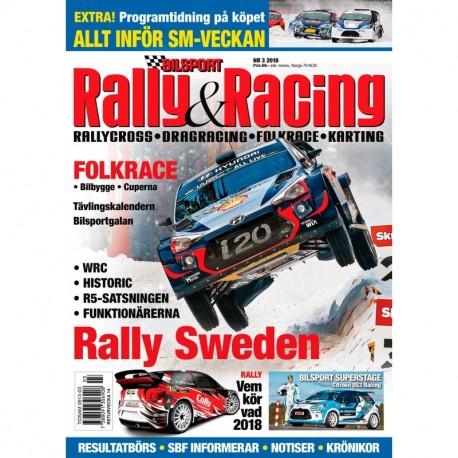 Bilsport Rally & Racing nr 3 2018